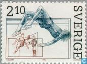 Briefmarken - Schweden [SWE] -  Leichtathletik
