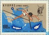 Briefmarken - Zypern [CYP] - Leichtathletik zwischen Zypern, Kreta und Saloniki