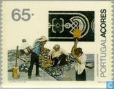 Postzegels - Azoren - Beroepen