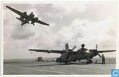 Grumman S-2A Trackers in actie op de Karel Doorman