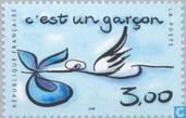 Postage Stamps - France [FRA] - It's a boy