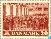 Postage Stamps - Denmark - Constitution