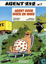 Comic Books - Agent 212 - Agent door weer en wind