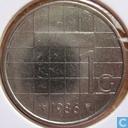 Monnaies - Pays-Bas - Pays Bas 1 gulden 1986