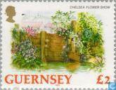 Timbres-poste - Guernesey - Fleurs
