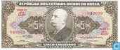 Banknotes - Tesouro Nacional, Valor Legal - Brazil 5 cruzeiros