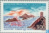 Les iles Sanguinaires Ajaccio Corse