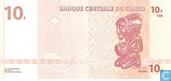 Bankbiljetten - Banque Centrale du Congo - Congo 10 Francs