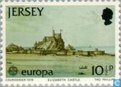 Postage Stamps - Jersey - Europe – Monuments