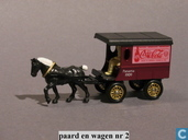 Model cars - Lledo - Horse drawn Delivery Van 'Coca-Cola'