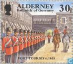 Timbres-poste - Aurigny - Développement historique
