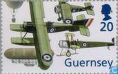 Postage Stamps - Guernsey - RAF 1898-1998