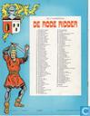 Comic Books - Red Knight, The [Vandersteen] - De zwarte roos