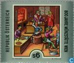 Postage Stamps - Austria [AUT] - 800 years Münzstätte ' Vienna