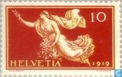 Postzegels - Zwitserland [CHE] - Vredesverdrag