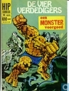Comic Books - Fantastic  Four - Een monster voorgoed