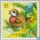 Postage Stamps - Guernsey - Christmas Tree Decoration