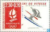 Postage Stamps - France [FRA] - Olympic Games Albertville