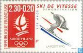 Postzegels - Frankrijk [FRA] - Olympische Spelen Albertville