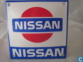 Emaille borden - Logo: Nissan - Emaille Bord : ''Nissan''