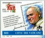 Postage Stamps - Vatican City - Italia '98 Stamp Exhibition
