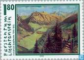 Postage Stamps - Liechtenstein - Paintings