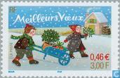 Timbres-poste - France [FRA] - Nouvel An
