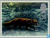 Briefmarken - Großbritannien [GBR] - Die vier Jahreszeiten- Winter