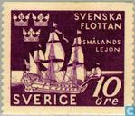 Postage Stamps - Sweden [SWE] - 300 years Battle of Fehmarn (1644)
