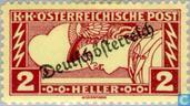 "Timbres-poste - Autriche [AUT] - Surcharge ""Deutsch Österreich"