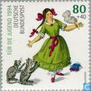Postage Stamps - Germany, Federal Republic [DEU] - Der Struwwelpeter