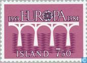 Postage Stamps - Iceland - Europe – Bridge