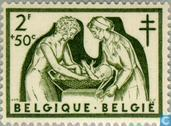 Briefmarken - Belgien [BEL] - Antituberculosis - Krankenschwestern