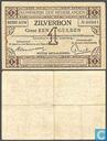 Banknoten  - Silberschein Niederlande - 1 Niederlande Gulden 1916