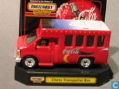 Model cars - Matchbox - Chevrolet Transporter Bus 'Coca-Cola'