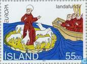 Postage Stamps - Iceland - Europe – Great discoveries