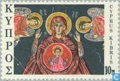 Timbres-poste - Chypre [CYP] - Scènes bibliques