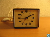 Uhr / Wecker - SHA 123 - Bruine Wekker, jaren 70