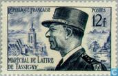 Postzegels - Frankrijk [FRA] - de Latttre de Tassigny, Maarschalk