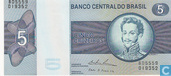 Bankbiljetten - Banco Central do Brasil - Brazilië 5 Cruzeiros