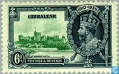 Timbres-poste - Gibraltar - Jubilé King V Geog 1910-1935