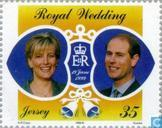 Postage Stamps - Jersey - Wedding Edward and Sophie