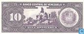Billets de banque - Venezuela - 1981-1998 Issue - Venezuela 10 Bolívares 1995