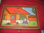 Speelgoed - Laurel en Hardy - Blokkenpuzzel Laurel & Hardy
