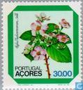 Postage Stamps - Azores - Flowers