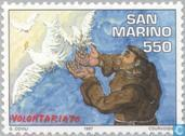 Timbres-poste - Saint-Marin - Volontaires
