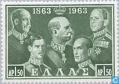 Briefmarken - Griechenland - 100 Jahre Dynastie