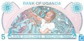 Banknotes - Uganda - 1979 ND Issue - Uganda 5 Shillings ND (1979)