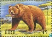 Postage Stamps - Ireland - Extinct Animals