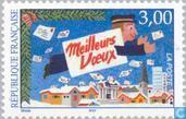 Postage Stamps - France [FRA] - Flying Postman